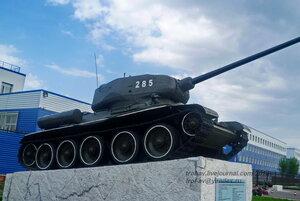 Т-34-85, БТВТ в 242 УЦ ВДВ, Омск