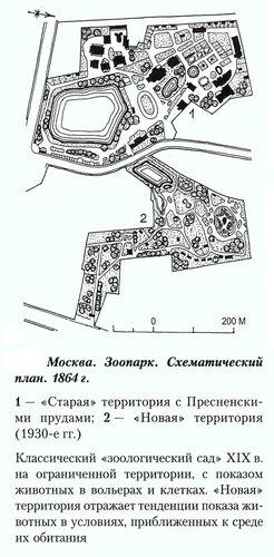 Генеральный план Московского зоопарка