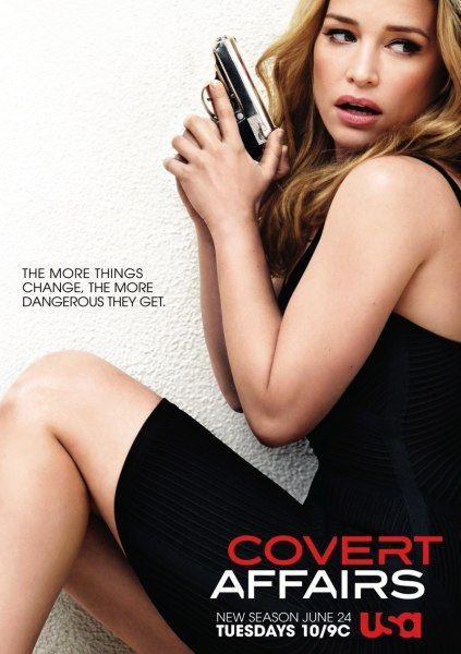 Тайные связи / Covert Affairs (5 сезон/2014/WEB-DLRip)