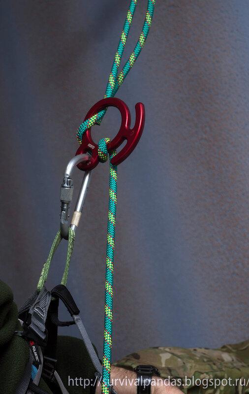 Альпинистская обвязка своими руками 85