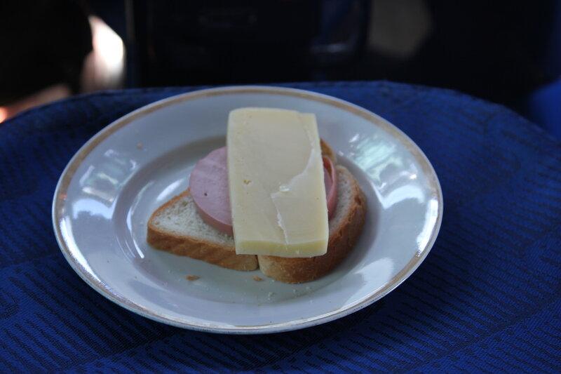Самолётная еда