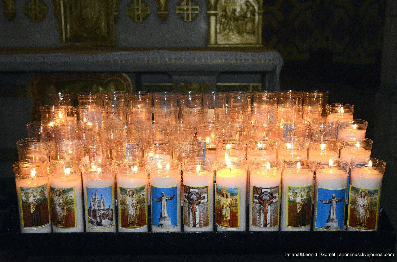 Храм Святого Сердца на Тибидабо. Барселона. Испания