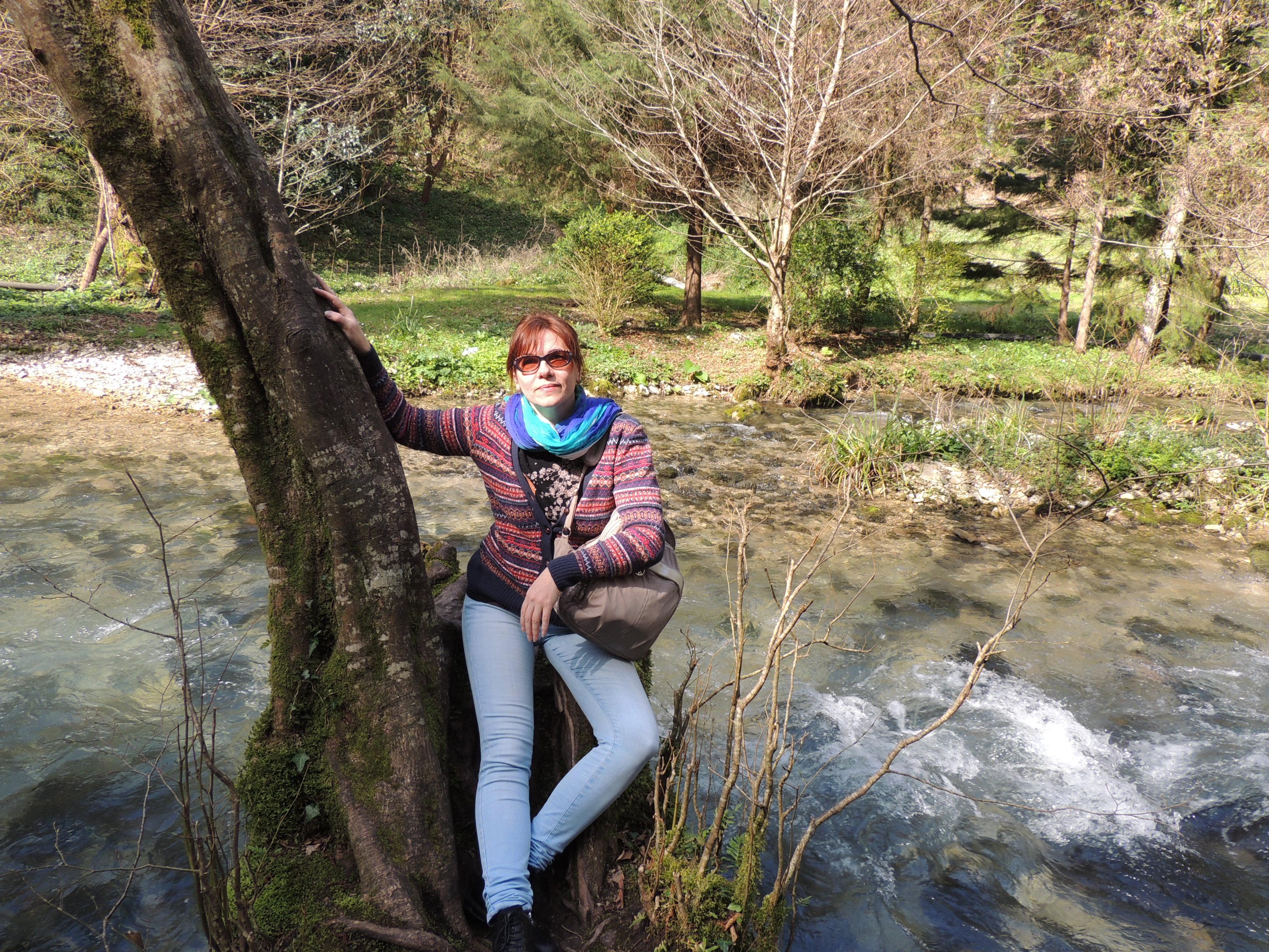 Абхазия Новый Афон Парк река 14 марта 2015 г., 16-36.JPG