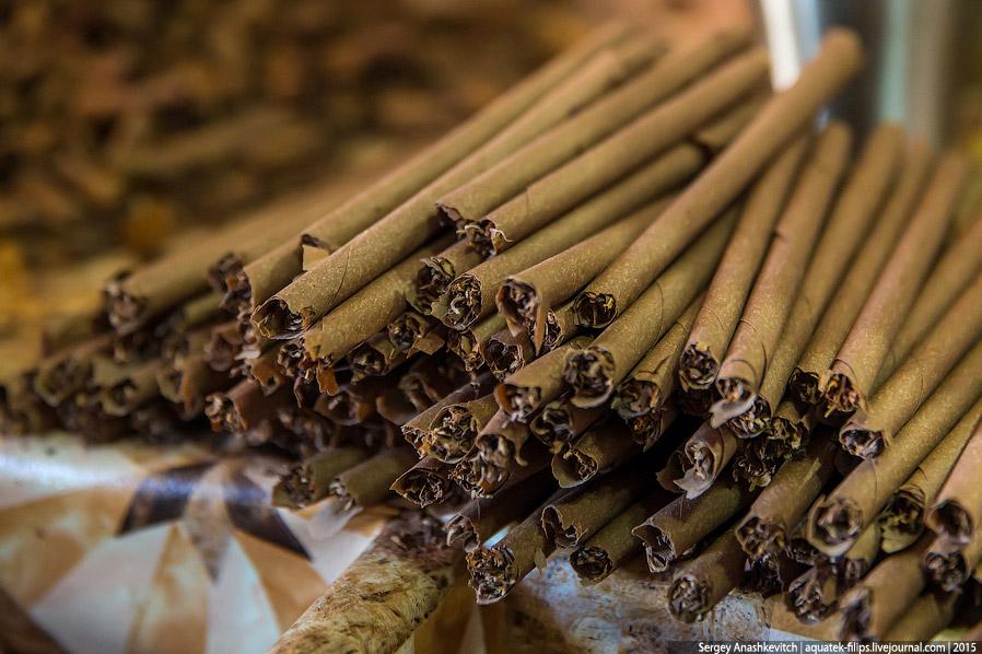 10. От сигары отрезается все лишнее...