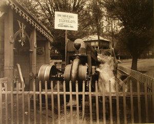 Один из экспонатов выставки - турбинный насос Пирвиц и Ко.