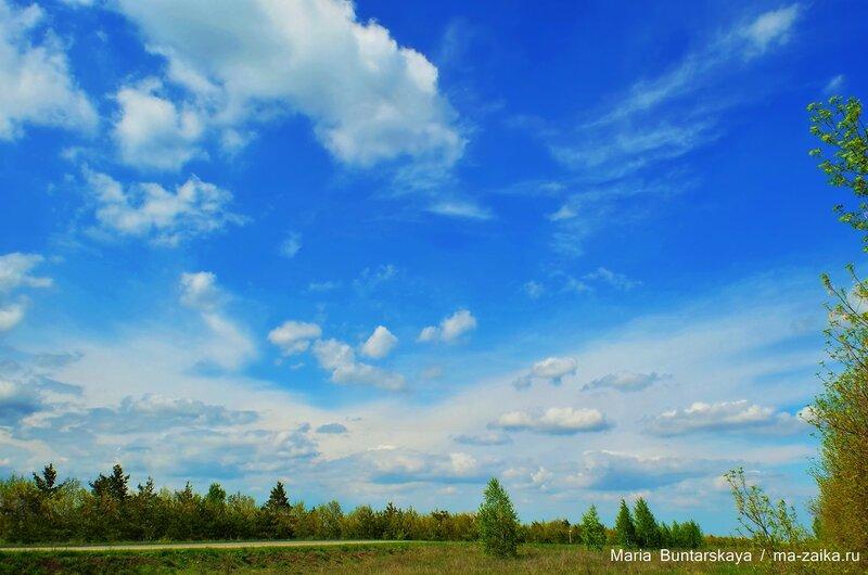 Пейзажи Рыбушки, Саратовский район, 14 мая 2015 года