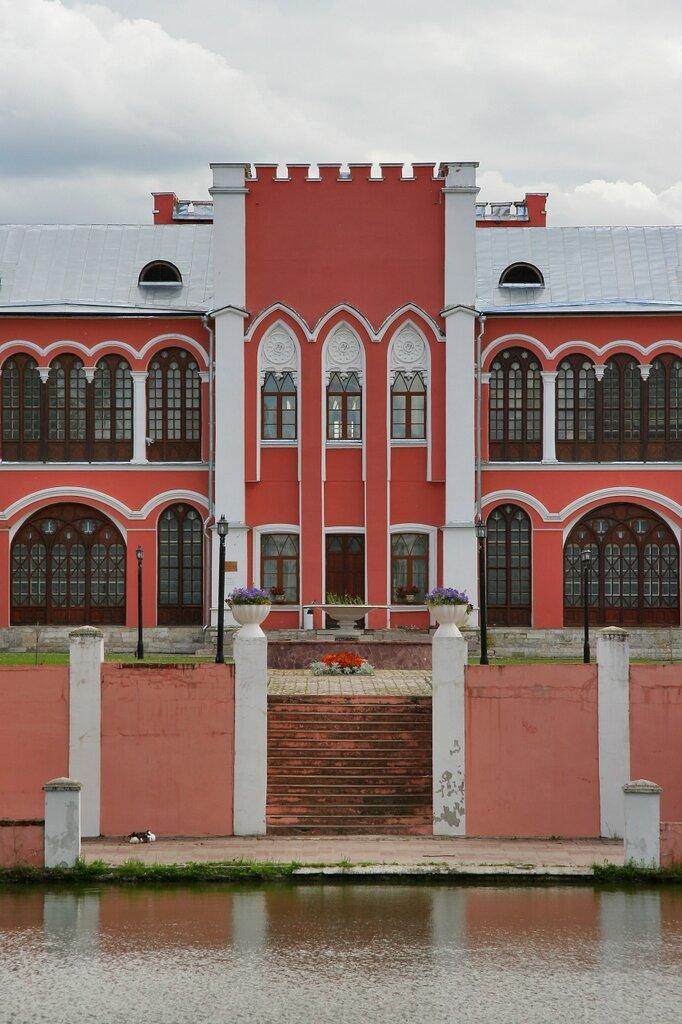 Марфино, Усадебный дом-дворец, центральная часть