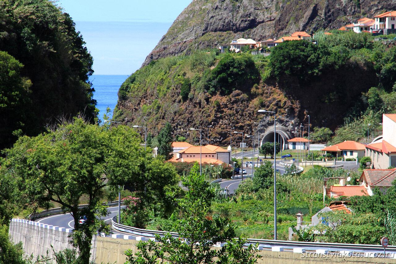 Мадейра, Грутас де Сан Висенте