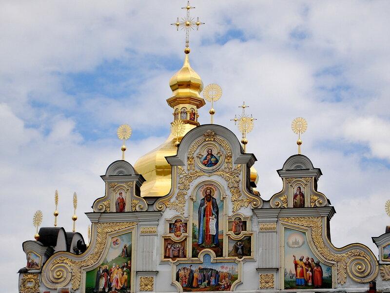 Главный храм Киево-Печерской Лавры – Успенский собор