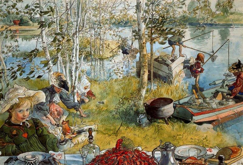 Carl Larsson (1853 - 1919)