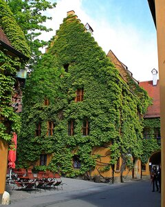 Старейшее в мире социальное поселение в городе Аугсбург (Германия)