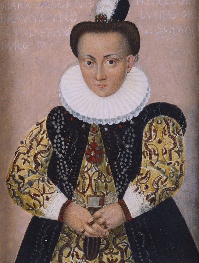 Клара Брауншвейг-Люнебург, графиня Schwartzburg-Бланкенбург (1571-1658)