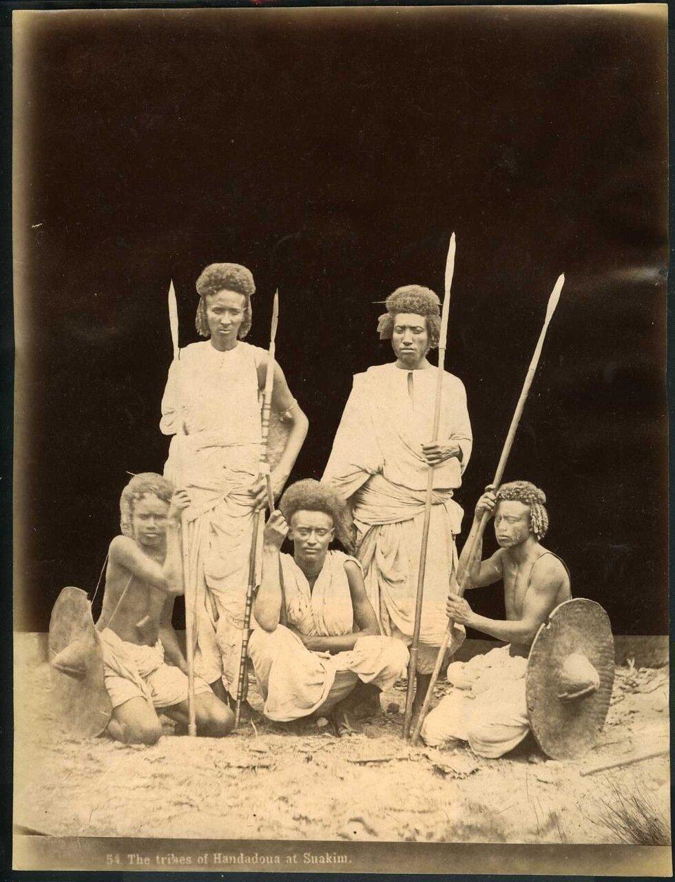 1880. Судан. Суакин, Народность ханданойя