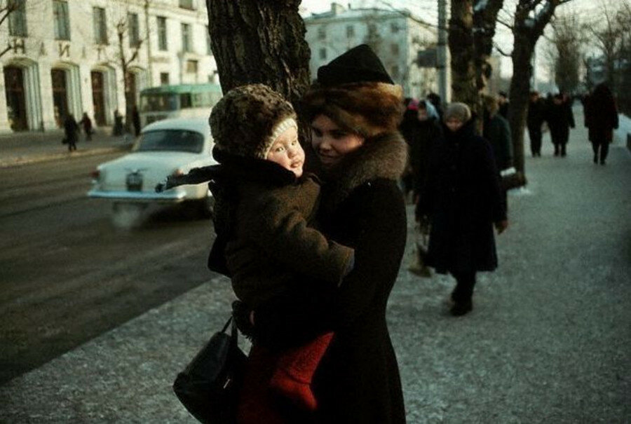 Иркутск. Улица Ленина. 1967