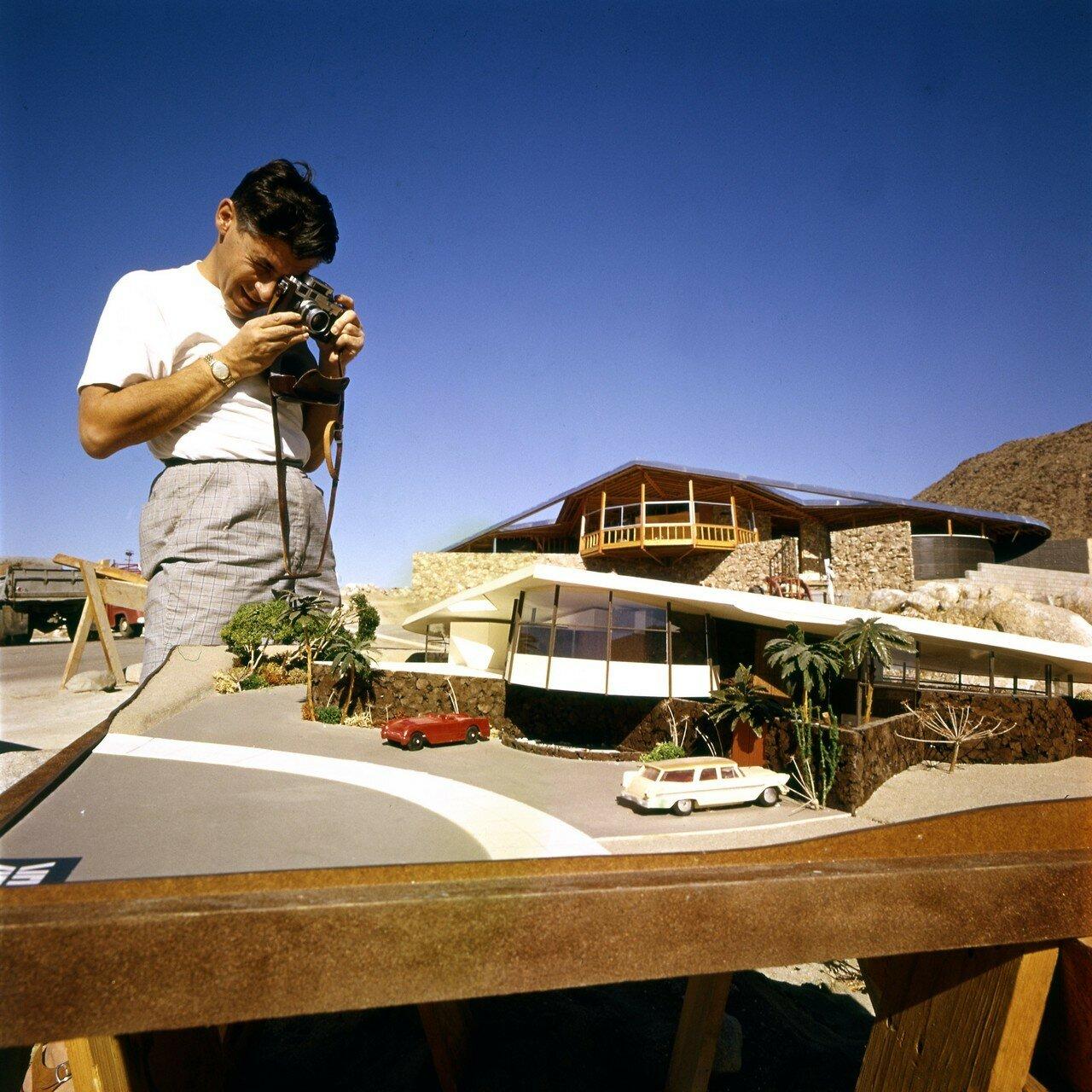 1960. Палм-спрингс. Модель