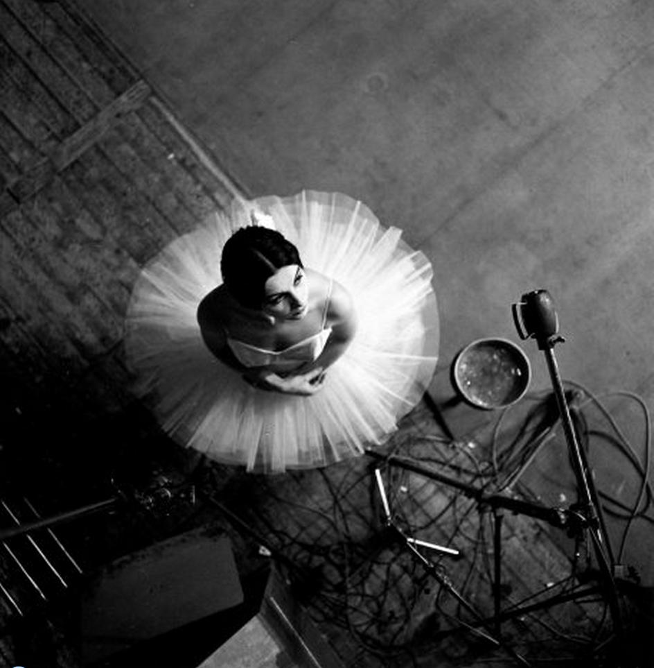 1963. Танцовщица Екатерина Верней