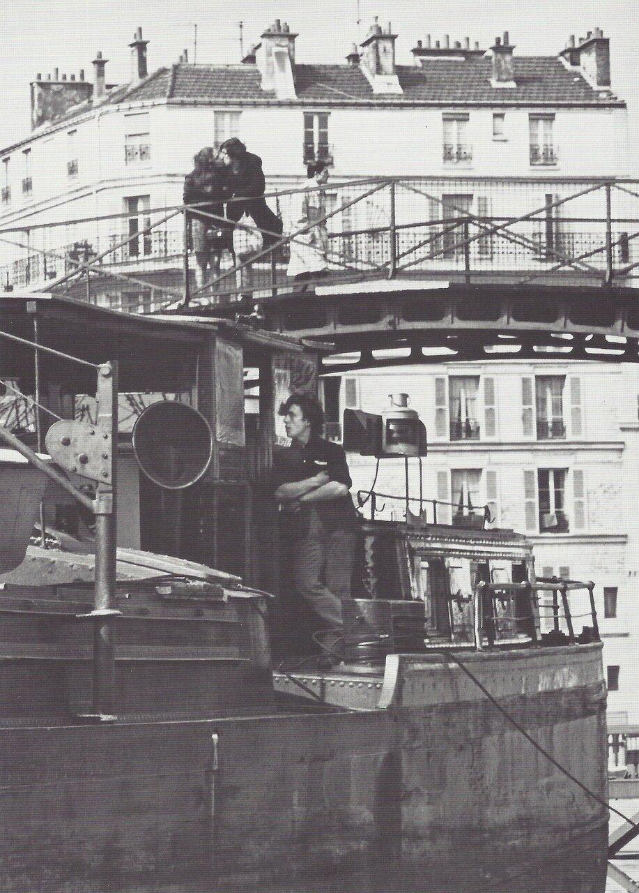 1969. Поцелуй у канала Сен-Мартен