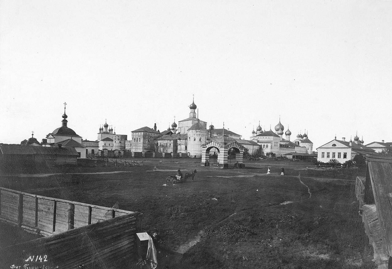 Общий вид Кремля с юго-восточной стороны