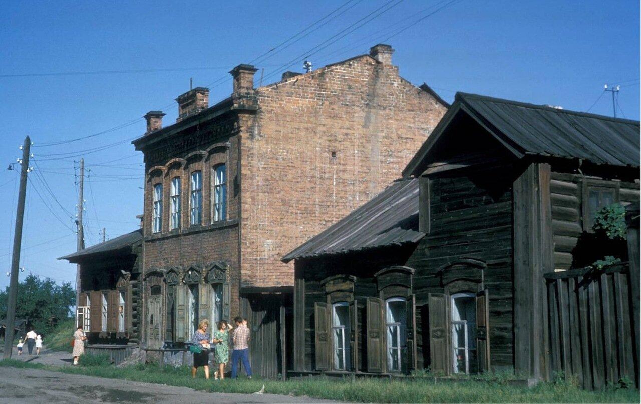 Дома в районе улицы Тимирязева