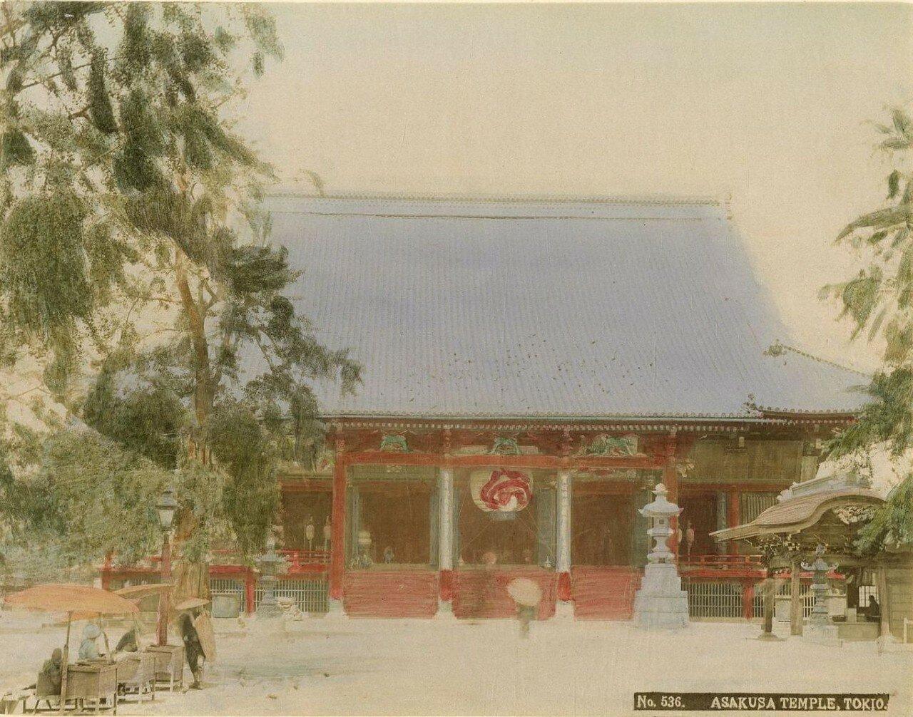 Токио. Храм Асакуса
