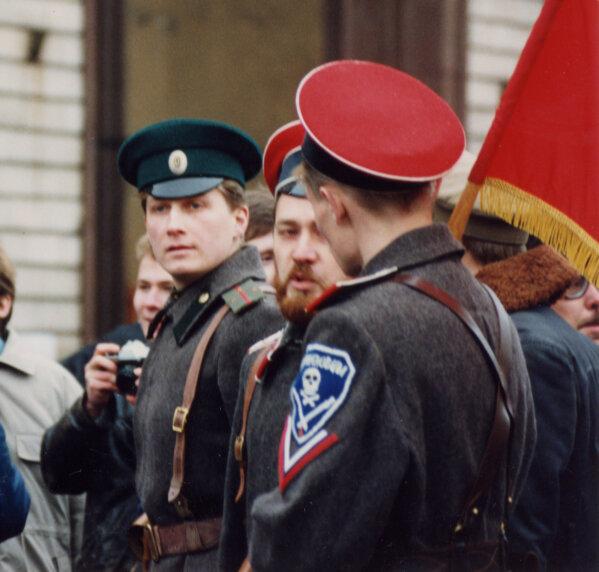 38. Союз демократических сил Митинг 7 ноября в Москве