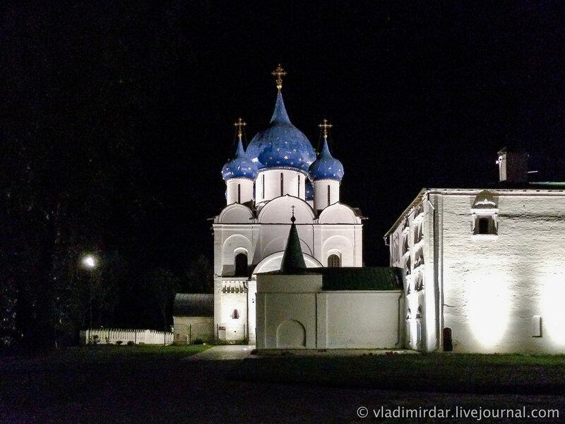 Ночные зарисовки Суздальского кремля