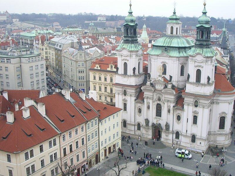 С высоты Староместской ратуши