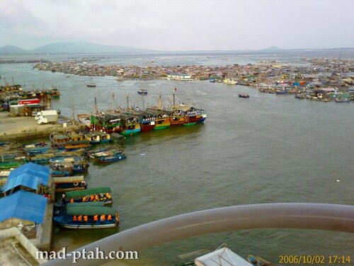 рыбацкая деревня, фуникулер, остров обезьян, хайнань, китай