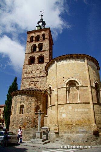 сеговия, испания, Iglesia de San Esteban