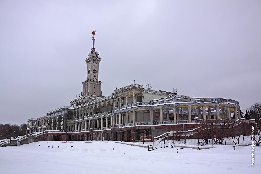Здание Северного речного вокзала