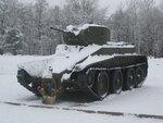 БТ-5 у Музея Прорыв блокады Ленинграда