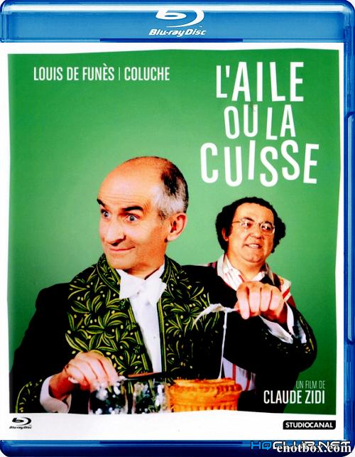 Крылышко или ножка / L'aile ou la cuisse (1976/HDRip)