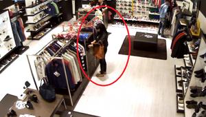В столичном торговом центре снята кража