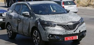 Renault испытывает новый кроссовер Djeyo