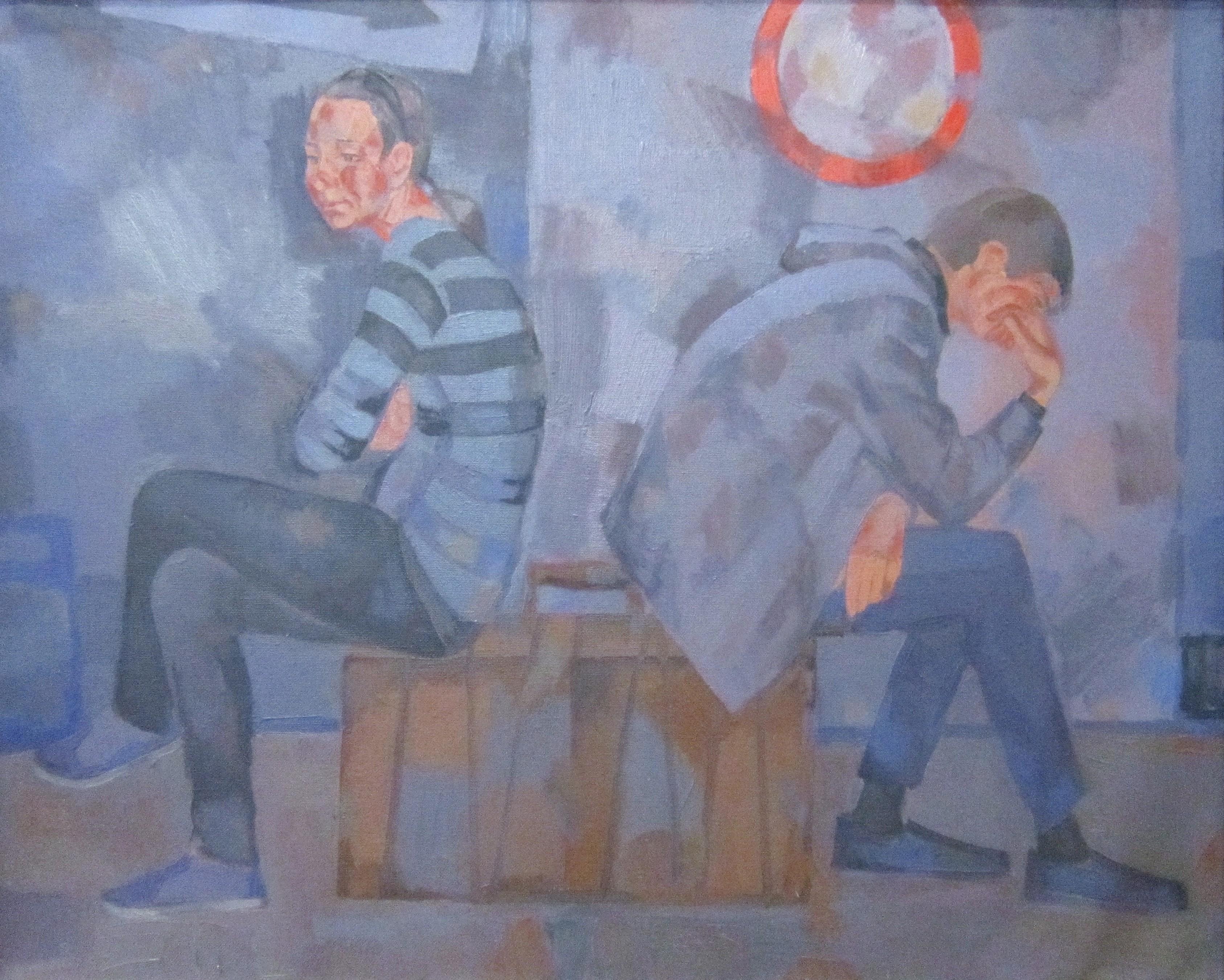 Игорь Викторович Шепель (род. в 1961 году). На перепутье. 2013 год.