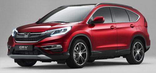 Honda выступила с европейской версией кроссовера CR-V