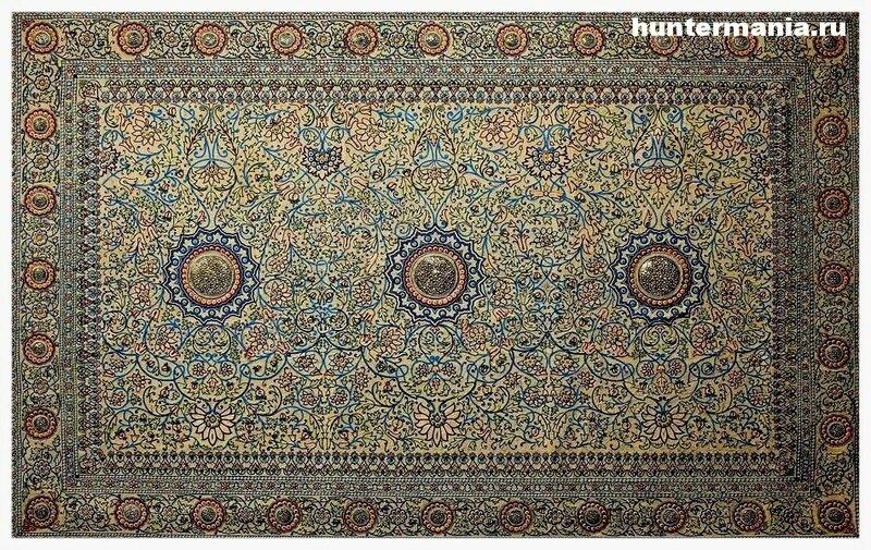 Драгоценные ковры