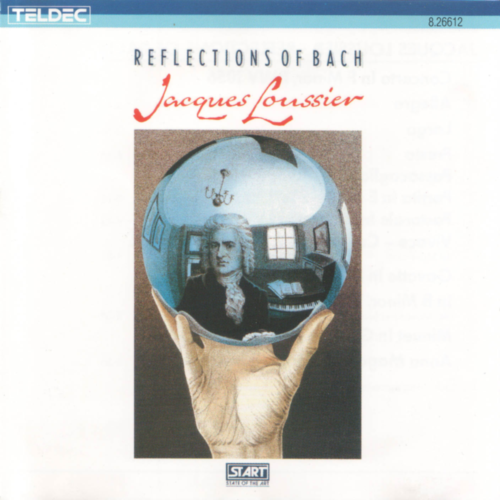 Jacques Loussier - Reflections Of Bach (1987) FLAC