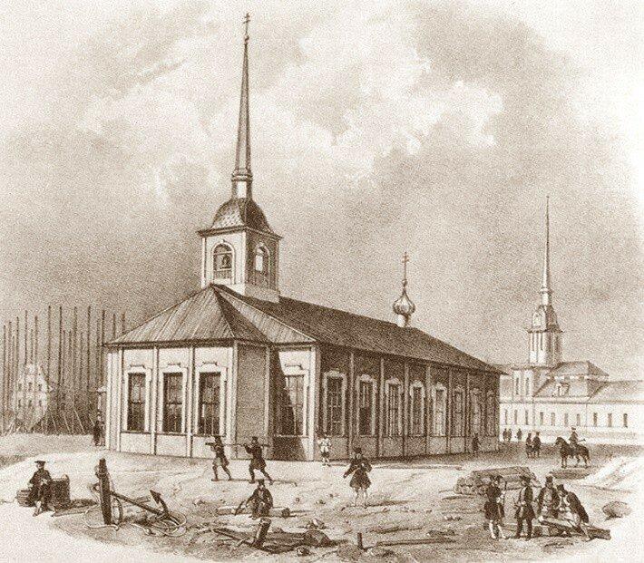 Исаакиевский наплавной мост - первый мост через Неву в Санкт-Петербурге