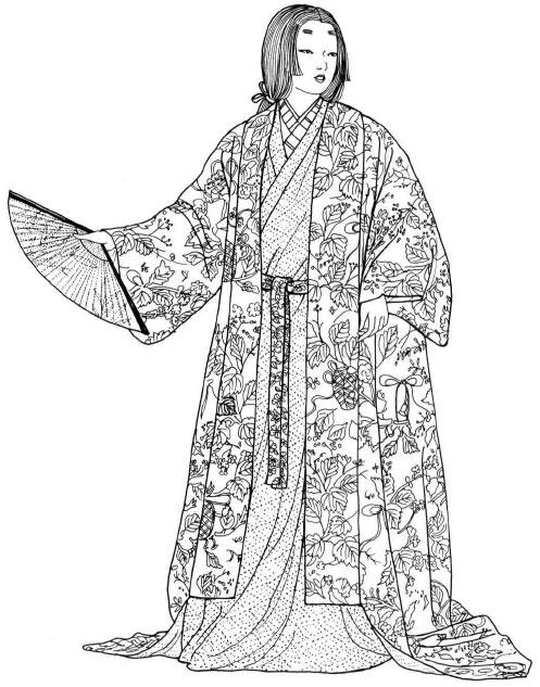Традиционная одежда. Период Момояма (1568-1603)