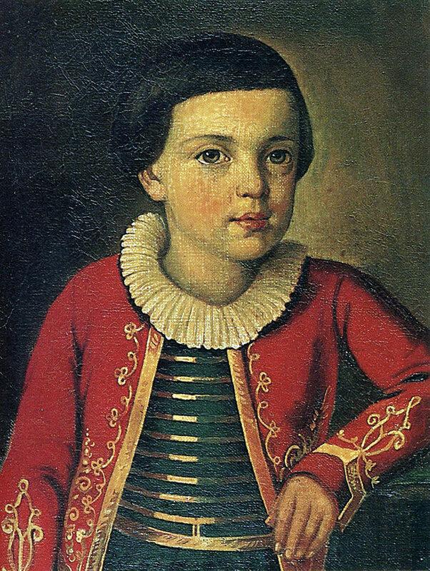 М. Ю. Лермонтов в возрасте 6—8 лет.jpg