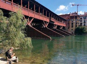Ponte Vecchio, Bassano / Ponte degli Alpini, архитектор Андреа Палладио
