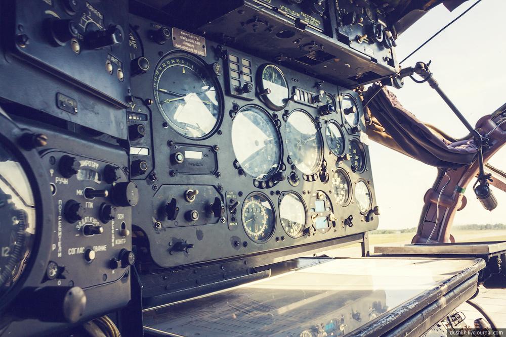 Ан-12БК снаружи и внутри