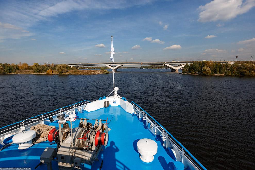 9. Канал имени Москвы или, как он раньше назывался «канал Москва — Волга». На удивление, очень живоп