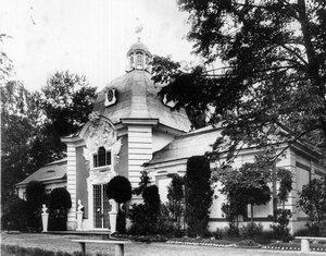 Павильон Министерства императорского двора и уделов.
