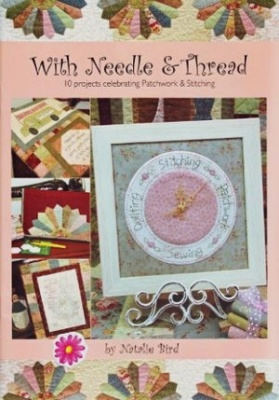 Книга With Needle & Thread. 10 projects celebrating Patchwork & Stitching