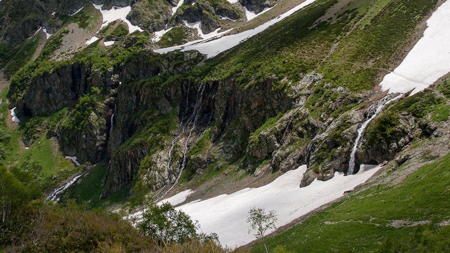 Водопады Ак-Айры