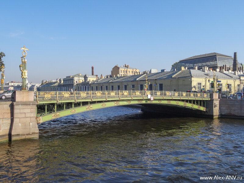 Пантелеймоновский мост через Фонтанку