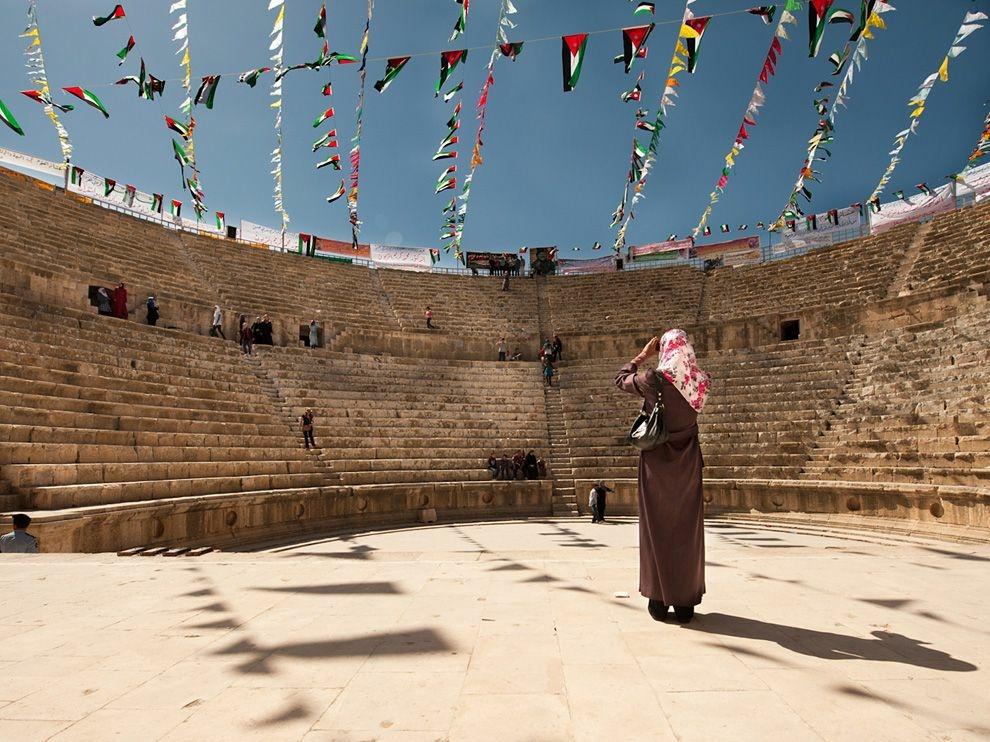 Римский амфитеатр, Иордания