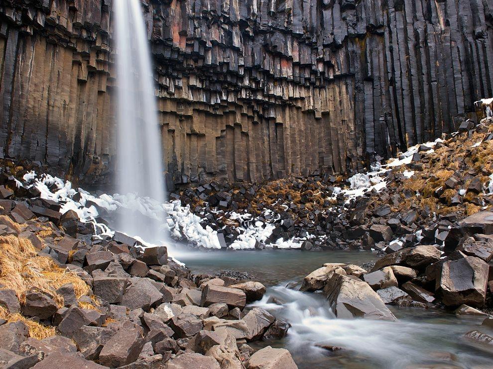 Svartifoss, Исландия